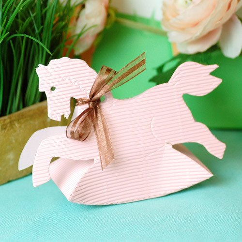 Rocking Horse Favor Boxes