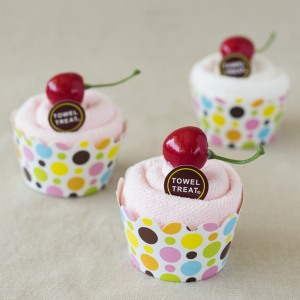 Cupcake Towel Favor