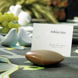 Natural Stone Place Card Holders
