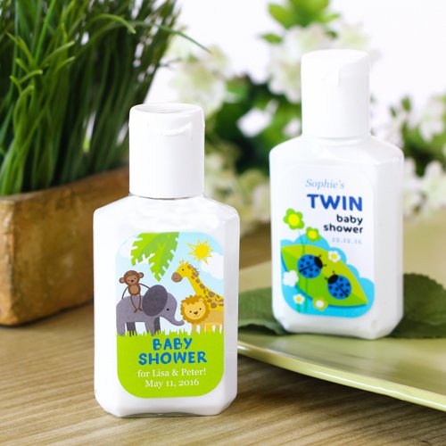 Personalized Baby Shower Hand Lotion