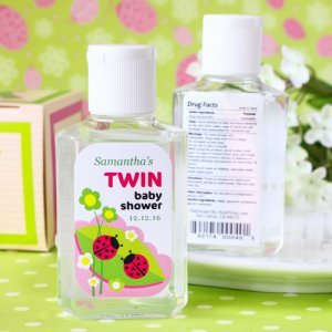 Personalized Baby Shower Hand Sanitizer