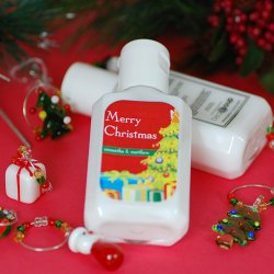 Personalized Holiday Hand Lotion