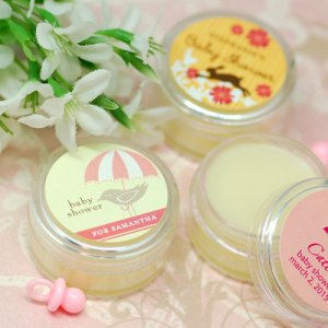 Personalized Baby Shower Lip Butter