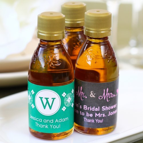 Personalized Maple Syrup Wedding Favor