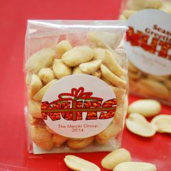 Personalized Nuts Party Favor