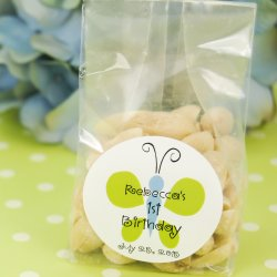 Personalized Nuts Birthday Favor