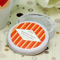 Personalized Travel Birthday Tea Tin
