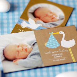 Exclusive Photo Baby Themed Save the Date Magnet