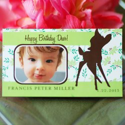 Exclusive Photo Birthday Party Save the Date Magnet