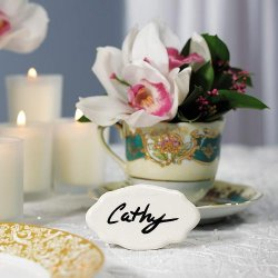 Glazed Ceramic Place Cards