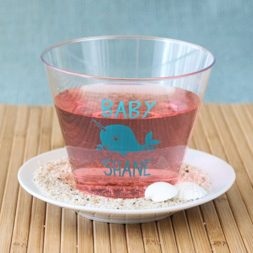 Personalized Clear Plastic Baby Shower Cups