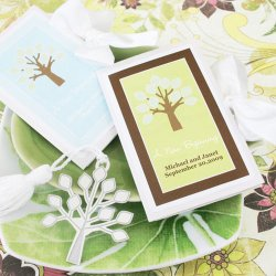 Personalized Fall Tree Bookmark