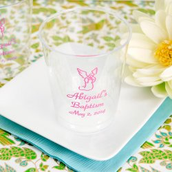 Personalized Clear Plastic Religious Cups