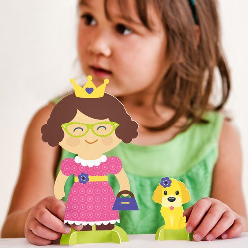 Decorate Your Own Princess Paper Doll