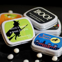 Exclusive Personalized Halloween Mint Tins