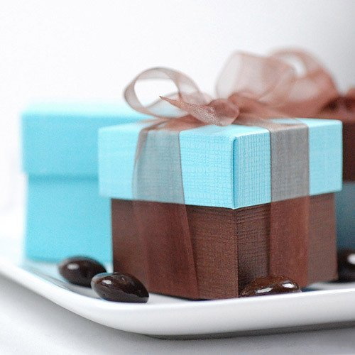 2 Inch Square Favor Box