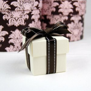 2 Piece Square Favor Boxes