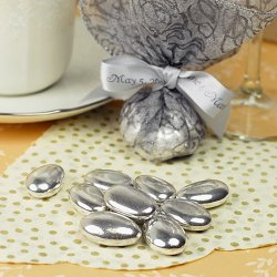 Silver and Gold Foil Jordan Almonds