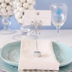 Wire Snowflake Place Card Holders