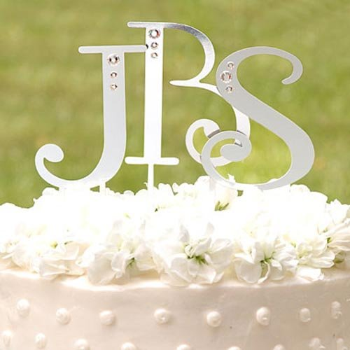 Accent Letter Cake Topper