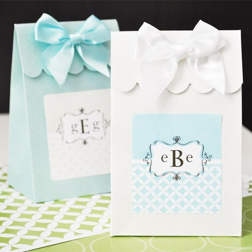 Personalized Monogram Candy Bags