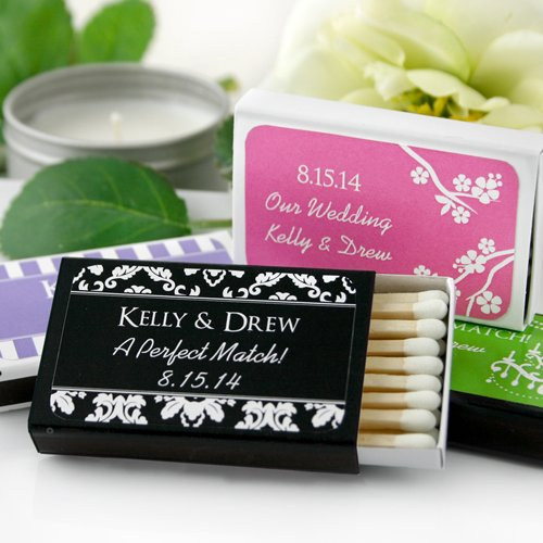 Personalized Wedding Matchboxes