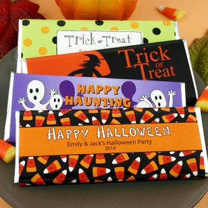 Personalized Halloween Hershey's Chocolate Bar