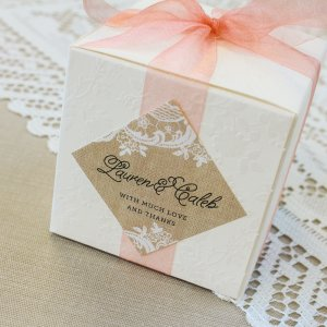 Personalized Diamond Wedding Labels