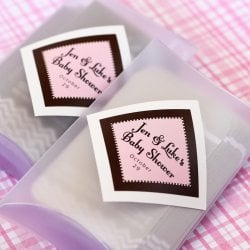 Personalized Diamond Baby Shower Labels