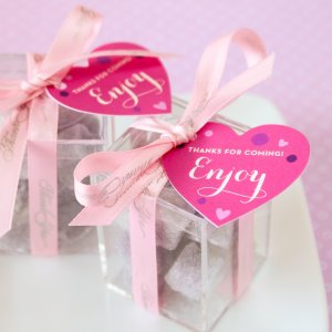 Personalized Heart Shaped Birthday Gift Tags