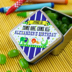 Personalized Diamond Birthday Labels