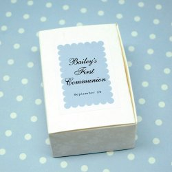 Custom Rectangular Party Labels
