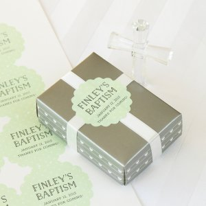 Personalized Scalloped Party Labels