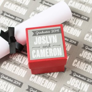 Personalized Square Party Labels