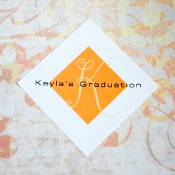 Personalized Diamond Party Labels