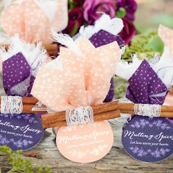 Personalized Round Party Gift Tags