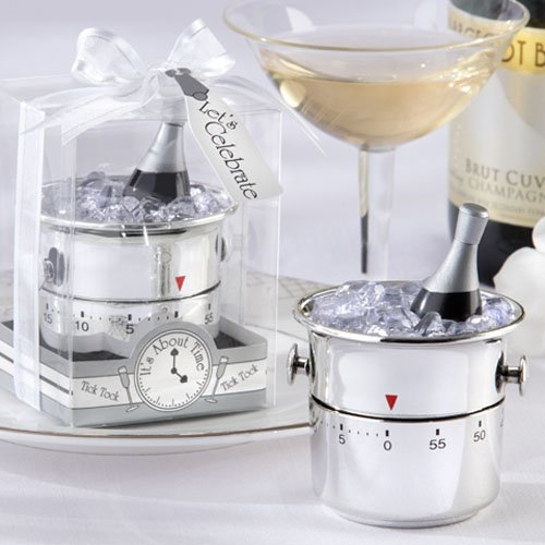 "Let's Celebrate"" Champagne Bucket Timer"