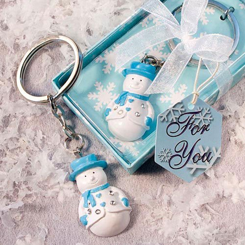Snowman Key Chain Favor