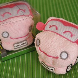 Cartoon Car Towel Favor