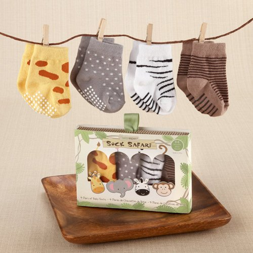 Safari Themed Sock Set