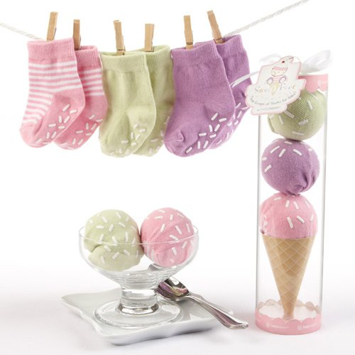 Three Scoops Of Ice Cream Socks Gift Set