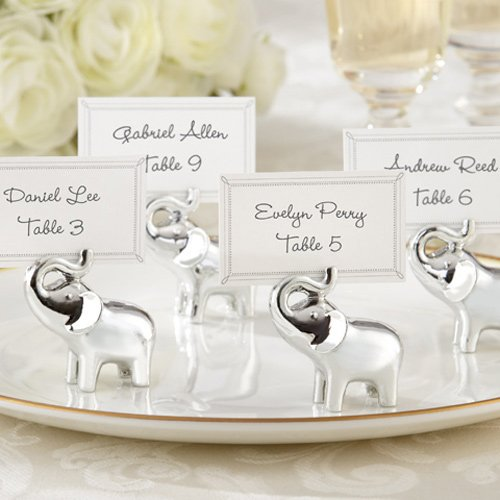 Lucky in Love Lucky Elephant Place Card Holder