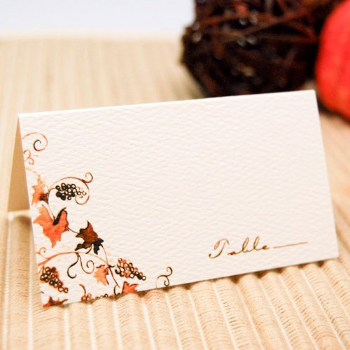 Rustic Vines Themed Place Card