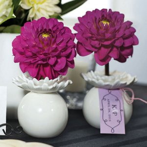 Mini Porcelain Flower Vases