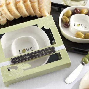 """Olive You"" Olive Tray and Spreader"