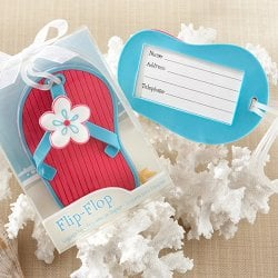 Flip Flop Luggage Tag