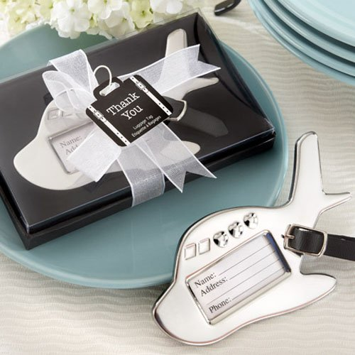 Wedding Party Gifts Canada: Airplane Luggage Tag