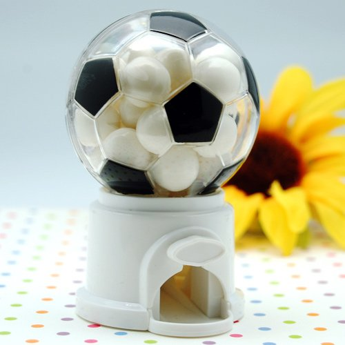 Mini Soccer Gumball Machine