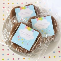 Personalized Baby Shower Chocolate Covered Pretzel