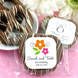 Personalized Chocolate Covered Pretzel